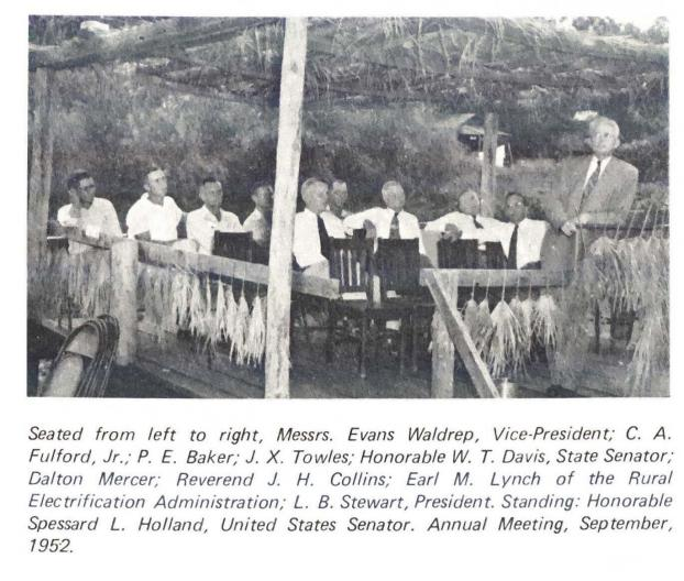 Image of TCEC Annual Meeting on September, 1952